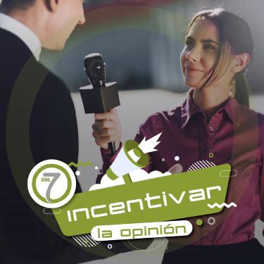 incentivar la opinion
